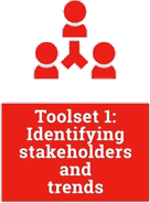 Toolset 1: Identifying stakeholders and trends
